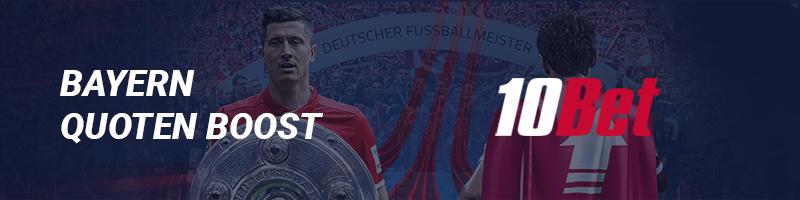 """Bundesliga-Wette: Sonderaktion von 10Bet """"Bayern holt den Titel"""""""