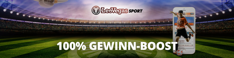 """100%iger Gewinnbonus im Rahmen der """"Profit Boot""""-Aktion bei LeoVegas Sport"""