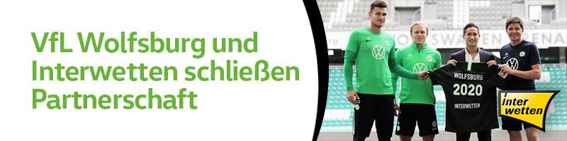 Bundesligaverein aus Wolfsburg gibt Abmachung mit Interwetten bekannt