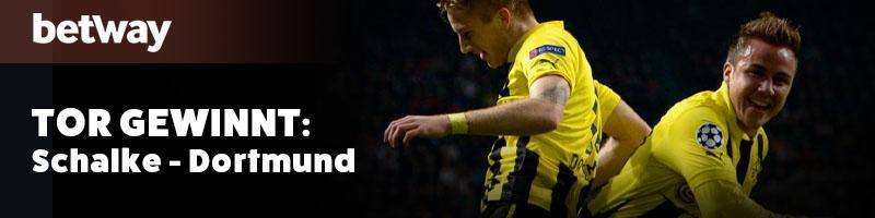 Schalke vs. Dortmund – Betway mit neuer CL Promotion