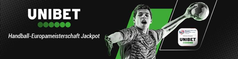 Bei Unibet auf die Handball EM setzen und Geldpreise im Jackpot gewinnen