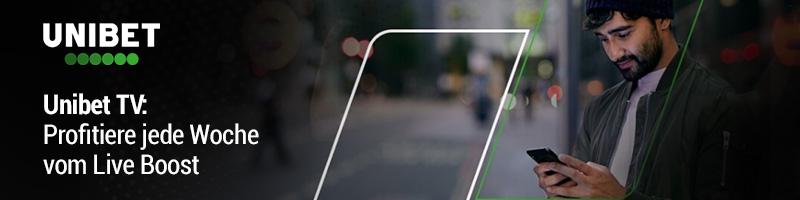 Nur für Kunden von Unibet: Live Streams und Live Profit Boost in Höhe von 25% für die La Liga