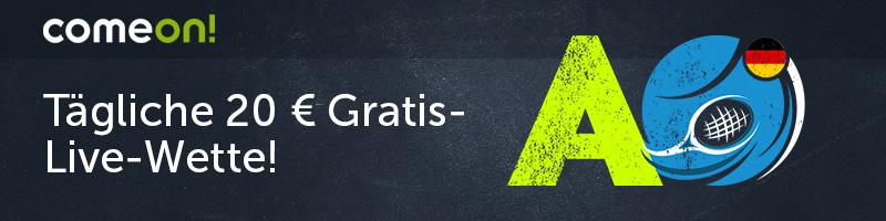 Täglich eine 20 € Gratis-Wette – Exklusiv bei ComeOn